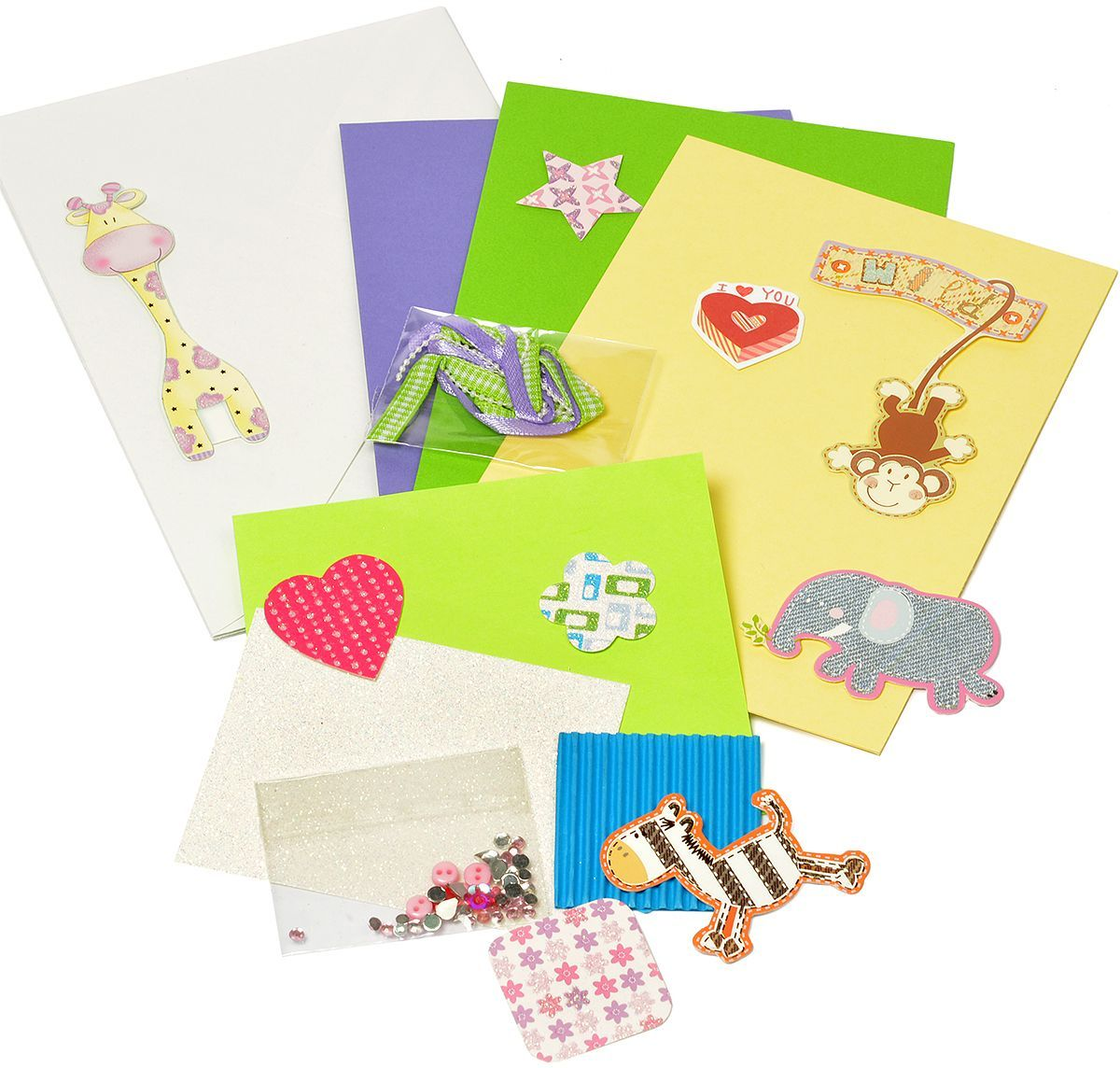 Набор для создания открыток Magic 4 Hobby, 11,5 x 17 см. MG.DIY-3.07 набор для создания открыток magic 4 hobby 11 5 x 17 см 11 5 x 21 см mg diy 6b 2