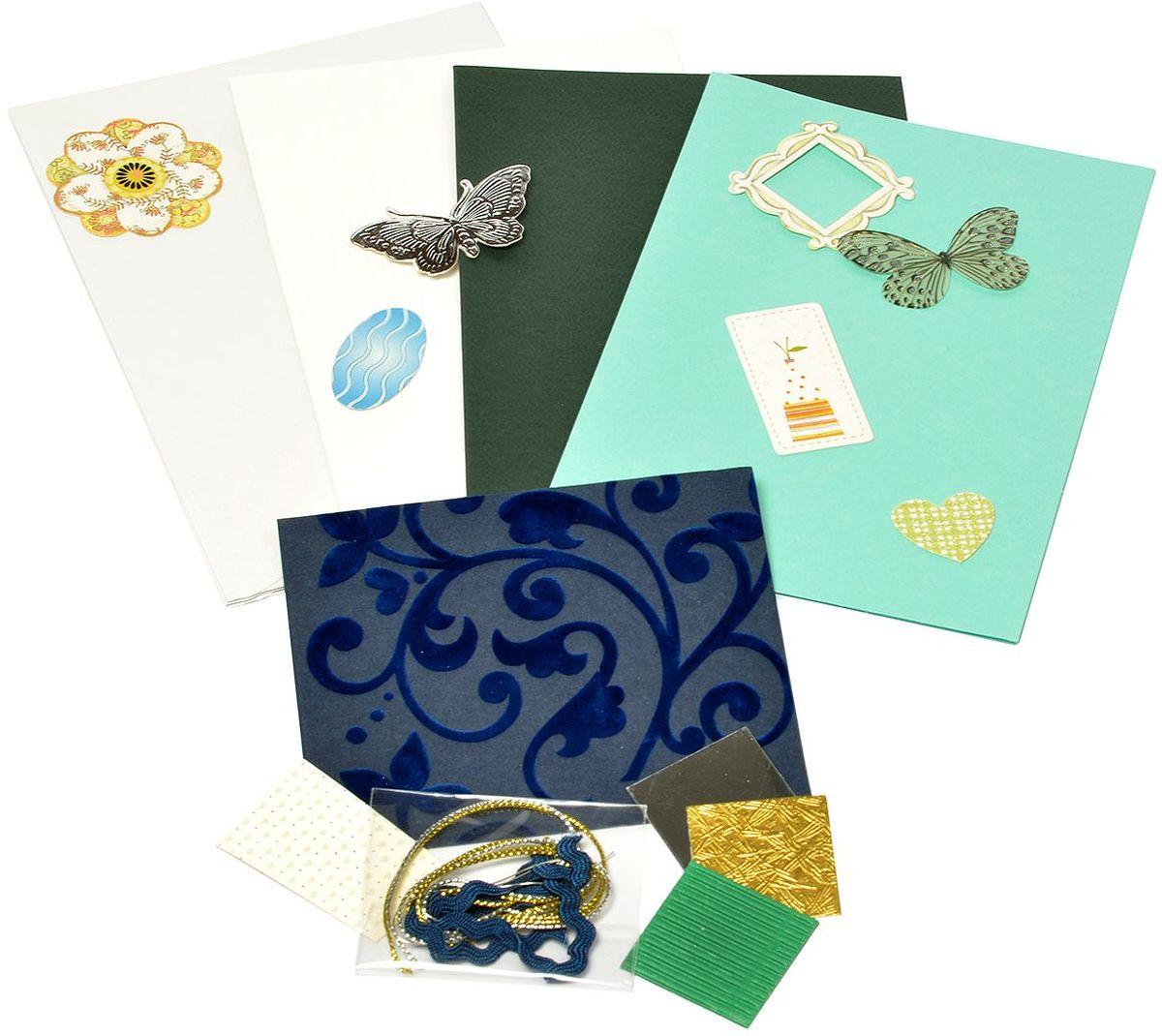 Набор для создания открыток Magic 4 Hobby, 11,5 x 17 см. MG.DIY-3.11 набор для создания открыток magic 4 hobby 11 5 x 17 см 11 5 x 21 см mg diy 6b 2
