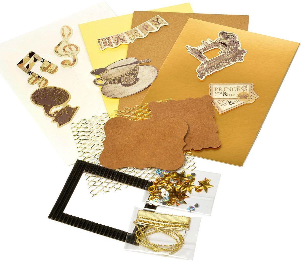 Набор для создания открыток Magic 4 Hobby, 11,5 x 17 см. MG.DIY-3A.3 набор для создания открыток magic 4 hobby 11 5 x 17 см 11 5 x 21 см mg diy 6b 2