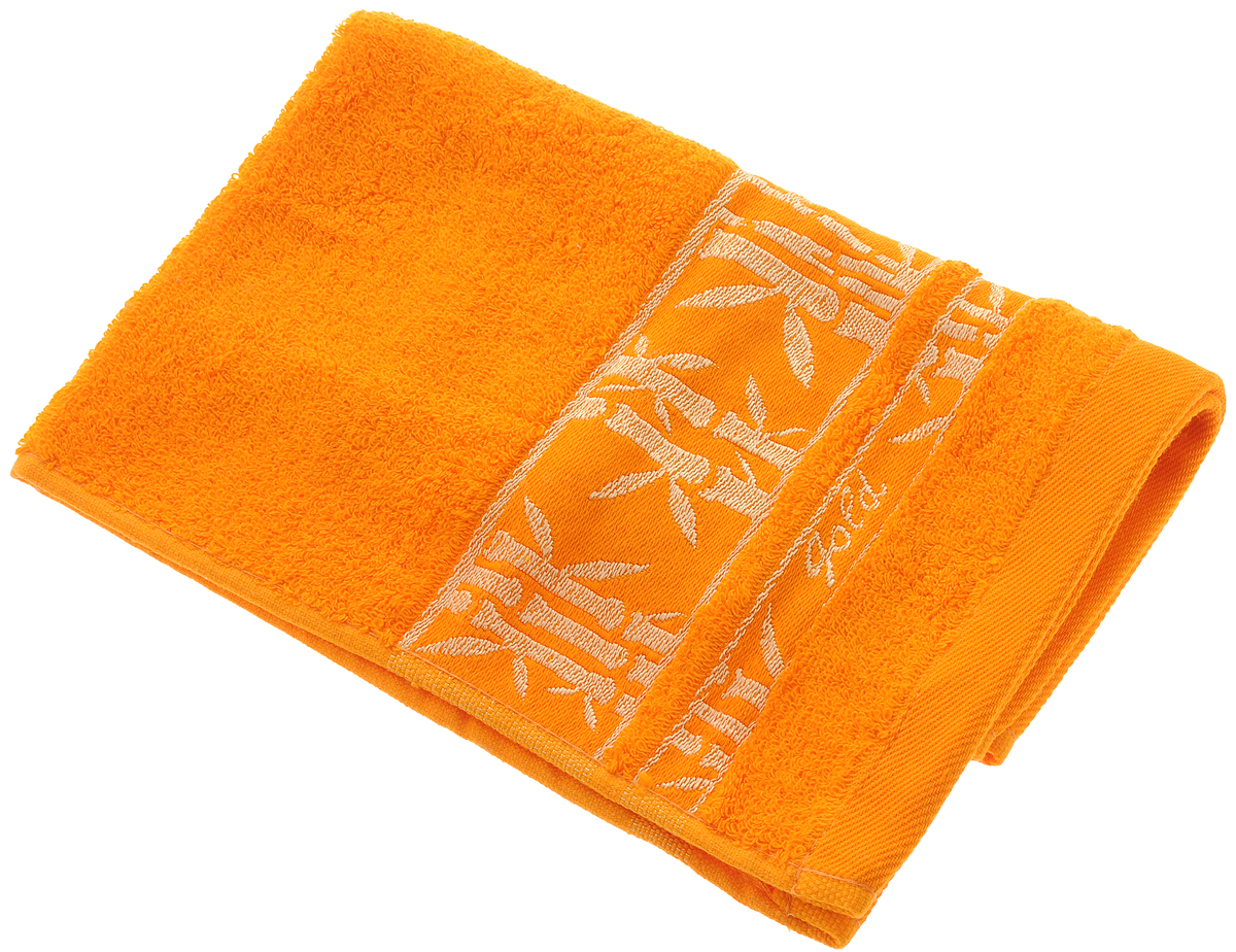 Полотенце Soavita Andrea, цвет: оранжевый, 30 х 50 см полотенца soavita полотенце добби 50х70 см
