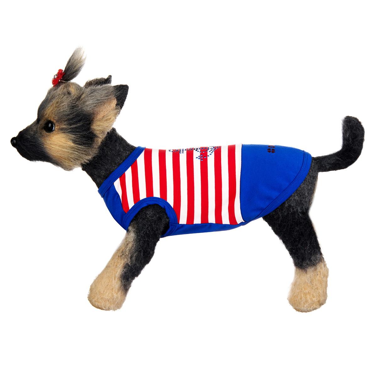 "Майка для собак Dogmoda ""Круиз"", унисекс. Размер 1 (S)"