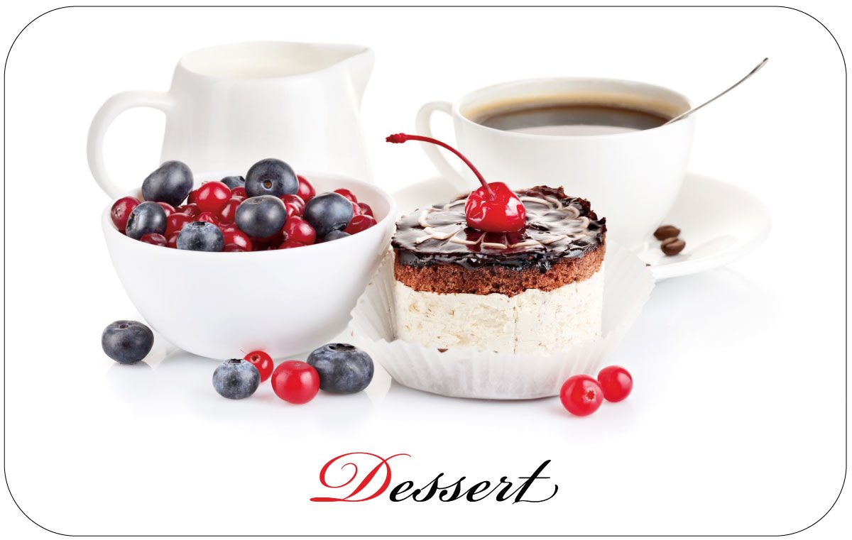 Салфетка сервировочная Пластмаркет Десерт, 41 х 26 см салфетка для сервировки стола togas рапсодия цвет бордо 53 см х 53 см