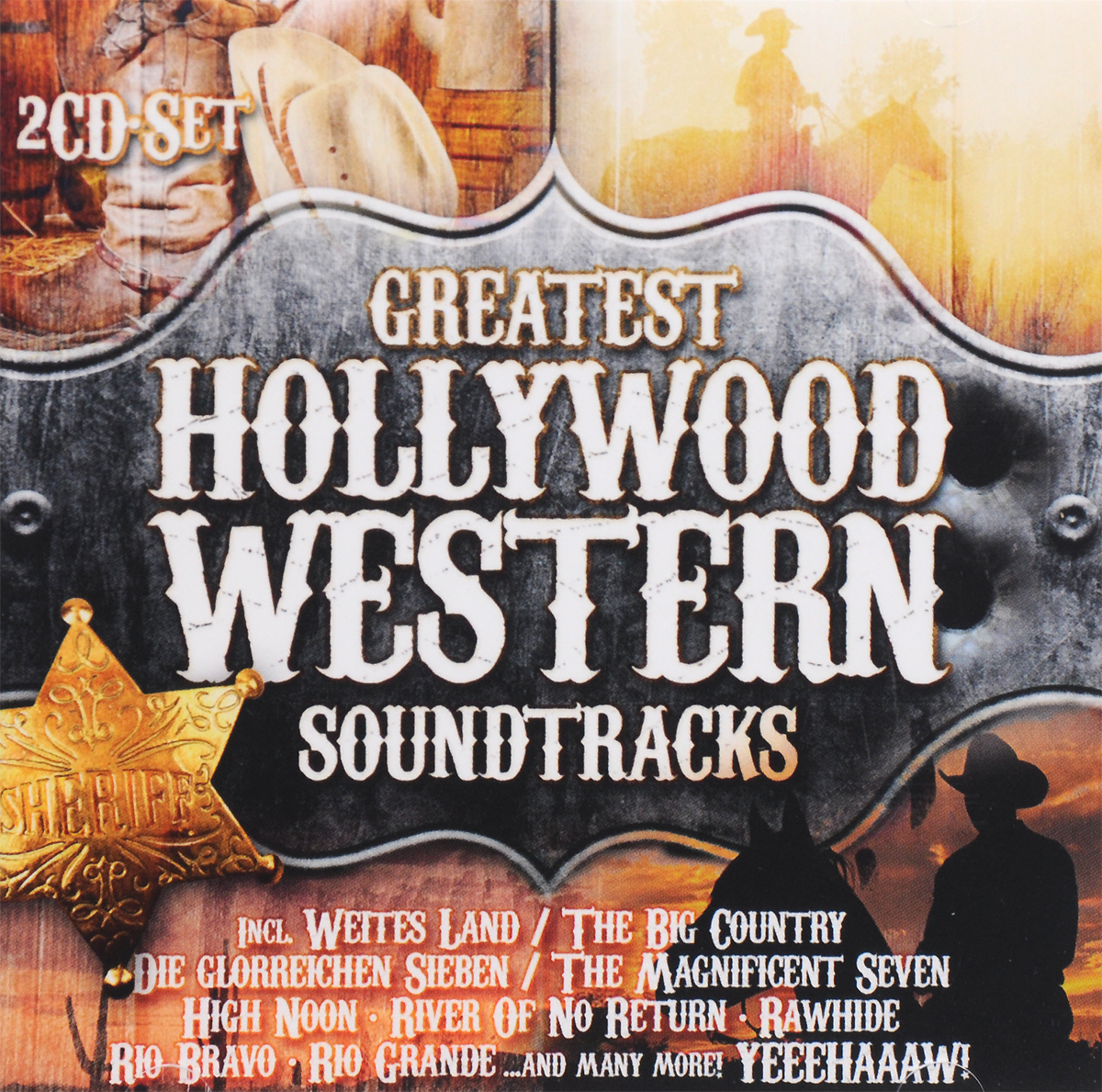 Greatest Hollywood Western Soundtracks (2 CD) hollywood music 2 0