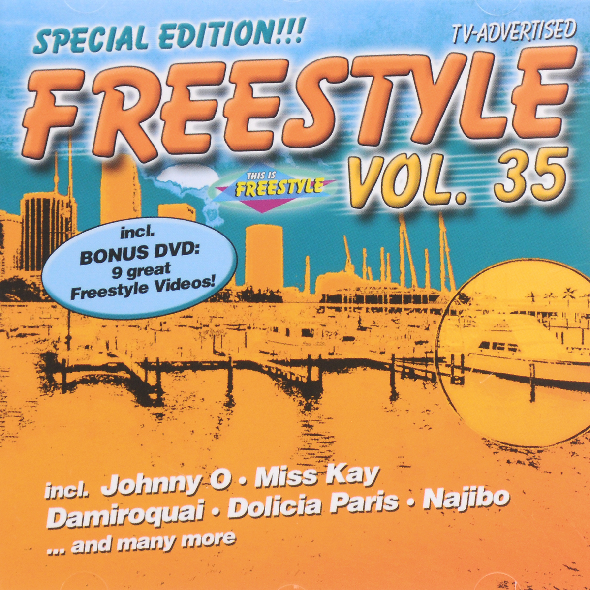 Miss Kay Freestyle Vol. 35. Special Edition (CD + DVD) johnny o rookie severin jayda soft touch лила грейс roxanna shineaz junior tiara suga mama x on jaylez maximnoise ники дэниэлс duap mc ричи сантьяго freestyle vol 40 best of final edition 3 cd