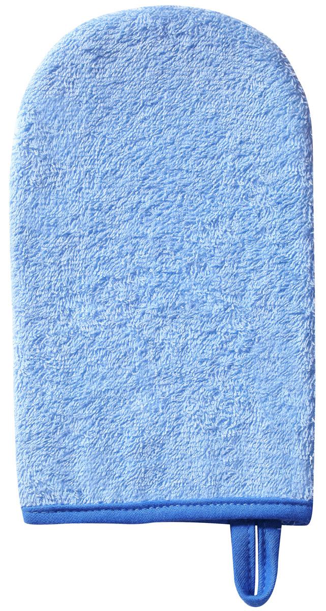 BabyOno Мочалка детская Рукавичка цвет голубой недорого