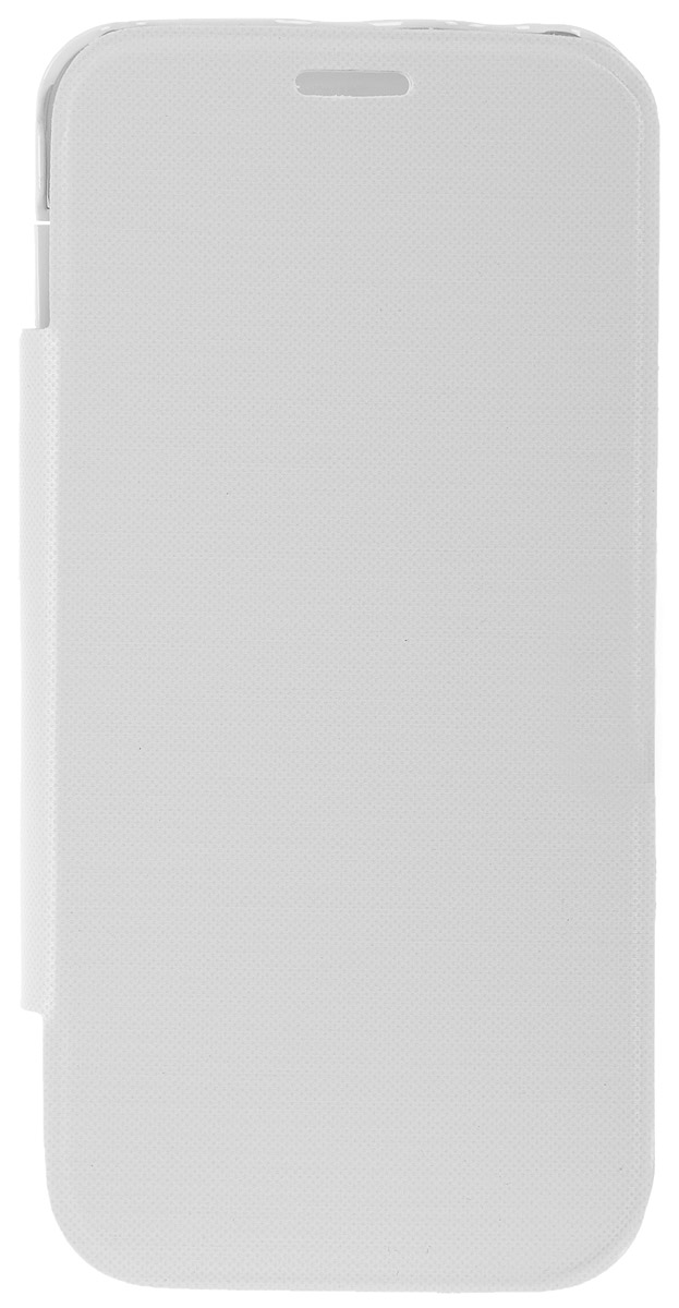 EXEQ HelpinG-SF10 чехол-аккумулятор для Samsung Galaxy S5 mini, White (3300 мАч, флип-кейс)
