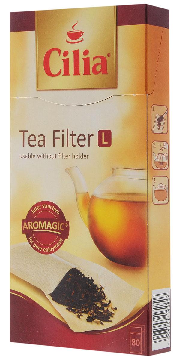 Melitta Cilia фильтры для чая, 80 шт