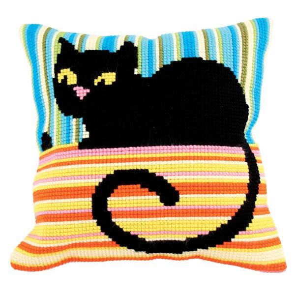 Набор для вышивания подушки Collection D'Art, 40 х 40 см. 5187 набор для вышивания подушки collection d art 40 х 40 см 5 193