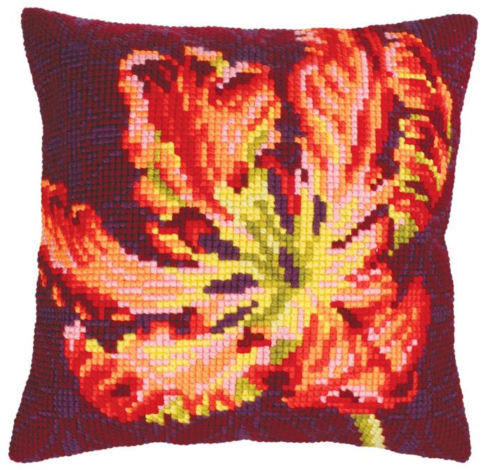 Набор для вышивания подушки Collection D'Art, 40 х 40 см. 5217 набор для вышивания подушки collection d art 40 х 40 см 5133