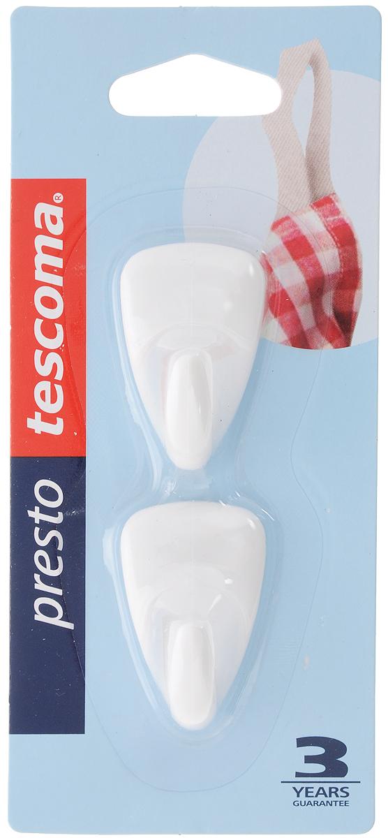 Крючок Tescoma Presto, самоклеящийся, 2 шт цена