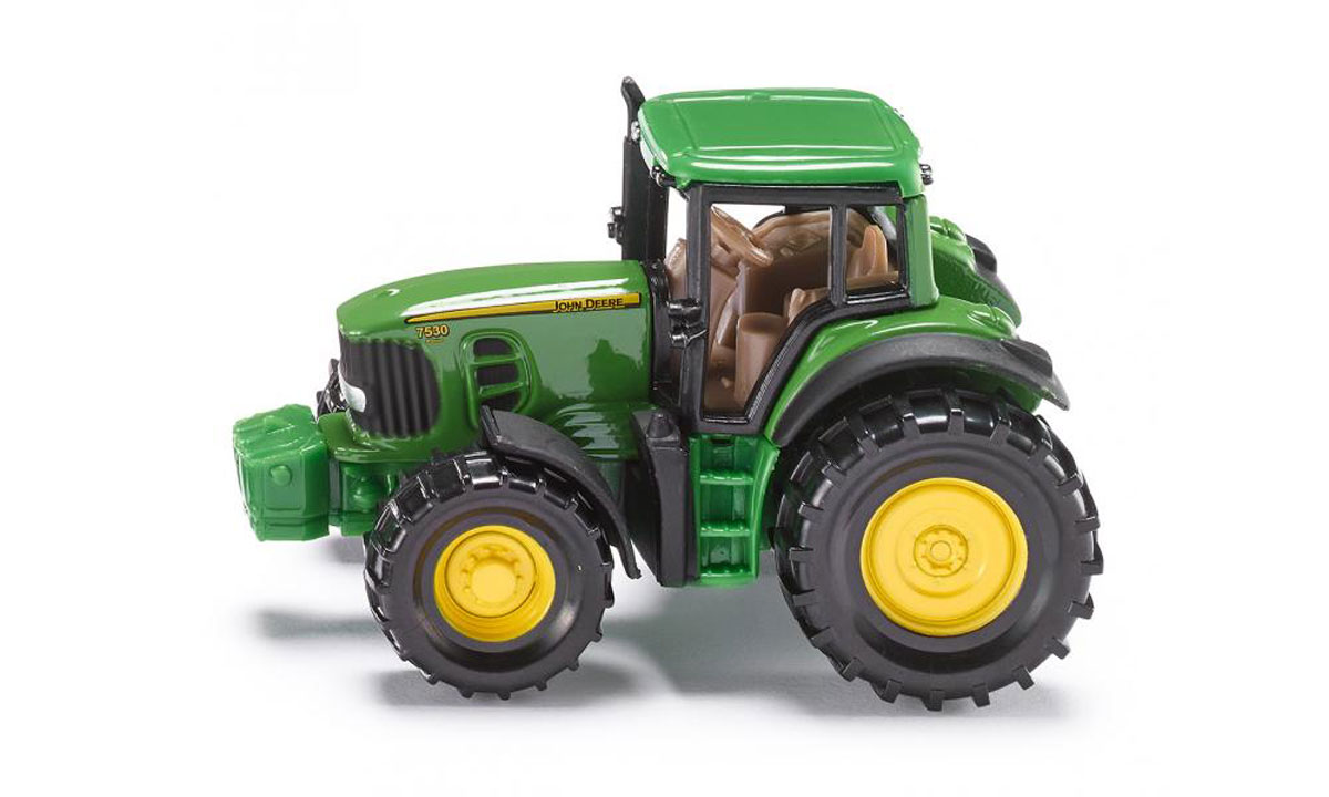 Siku Трактор John Deere 7530 siku siku 1650 трактор john deere с силосным прицепом