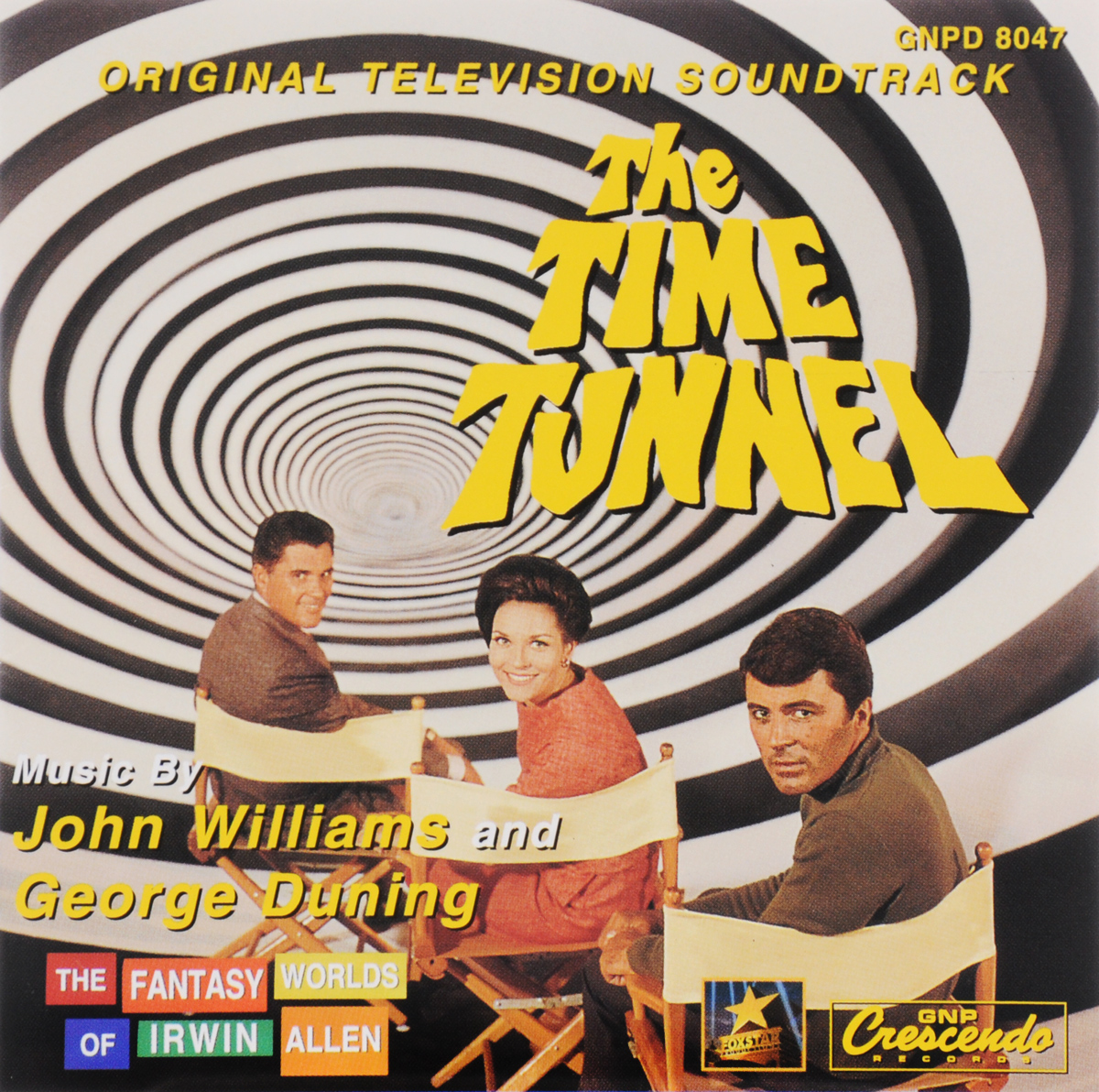 The Fantasy Worlds Of Irwin Allen. Vol. 4. The Time Tunnel. Original Television Soundtrack алехандер куредж star trek the cage where no man gone before original television soundtrack