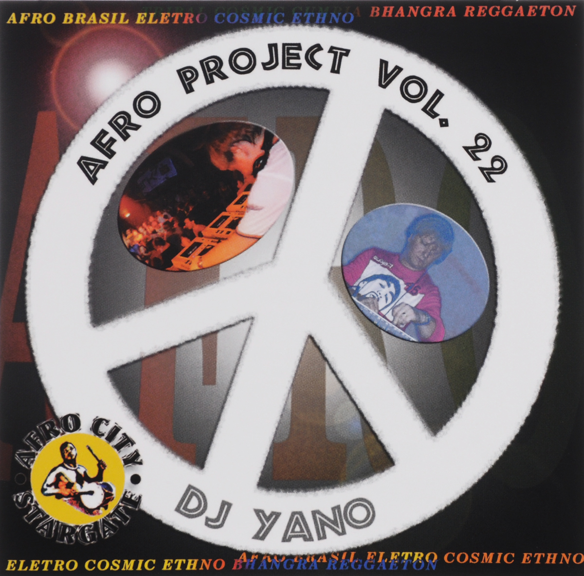 Dj Yano Dj Yano. Afro Project. Vol. 22 цена и фото