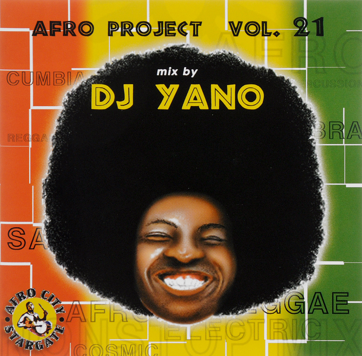 Dj Yano DJ Yano. Afro Project Vol. 21 цена и фото