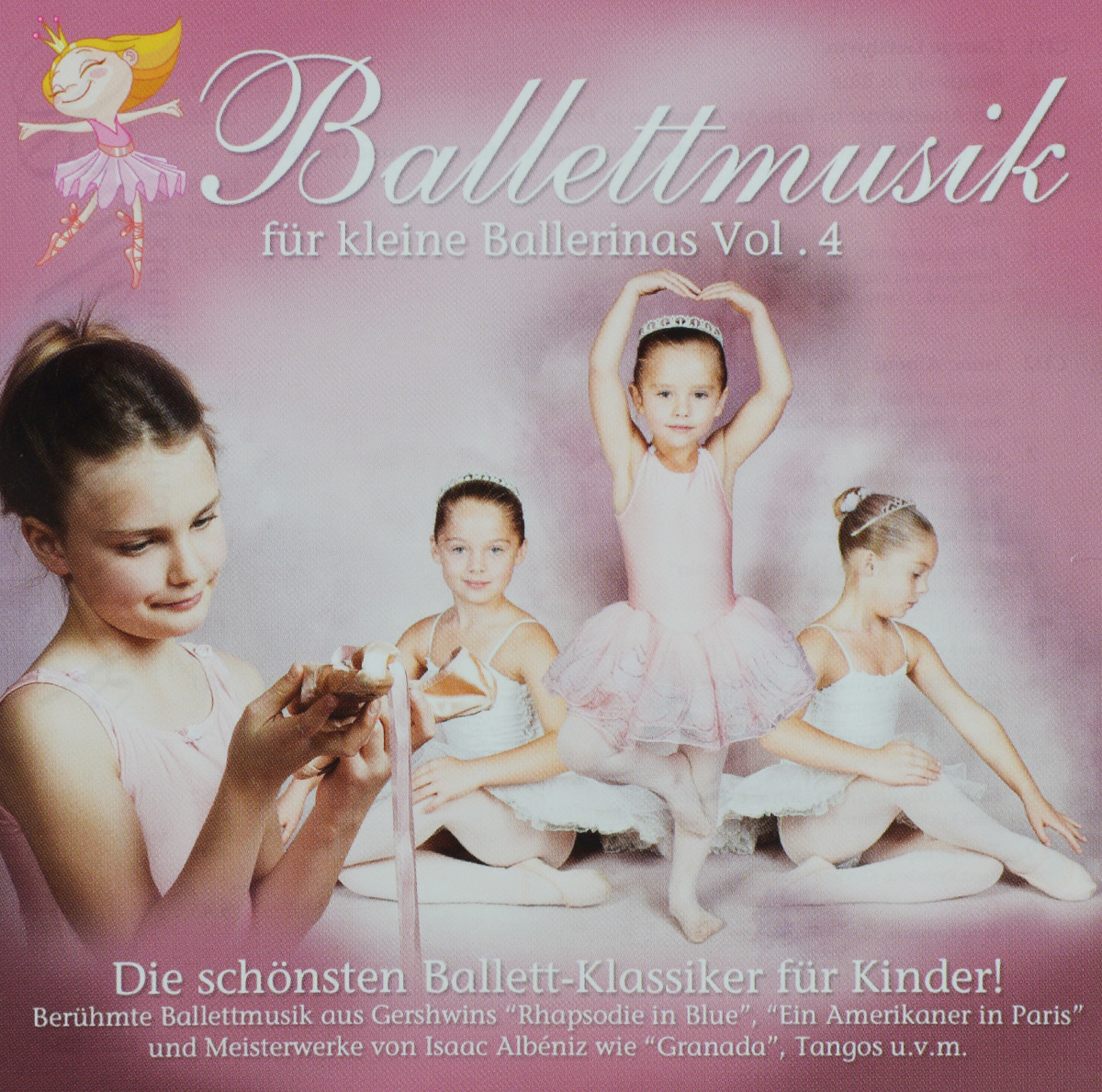 купить Philharmonia Slavonica Ballettmusik Fur Kleine Ballerinas. Vol. 4 (2 CD) по цене 1179 рублей