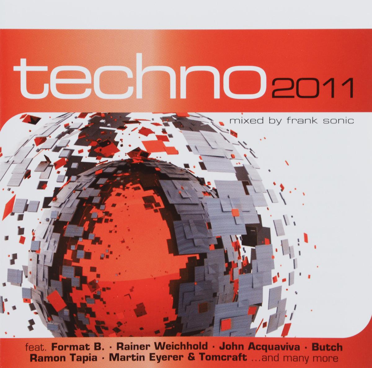 где купить Techno 2011. Mixed By Frank Sonic (2 CD) по лучшей цене