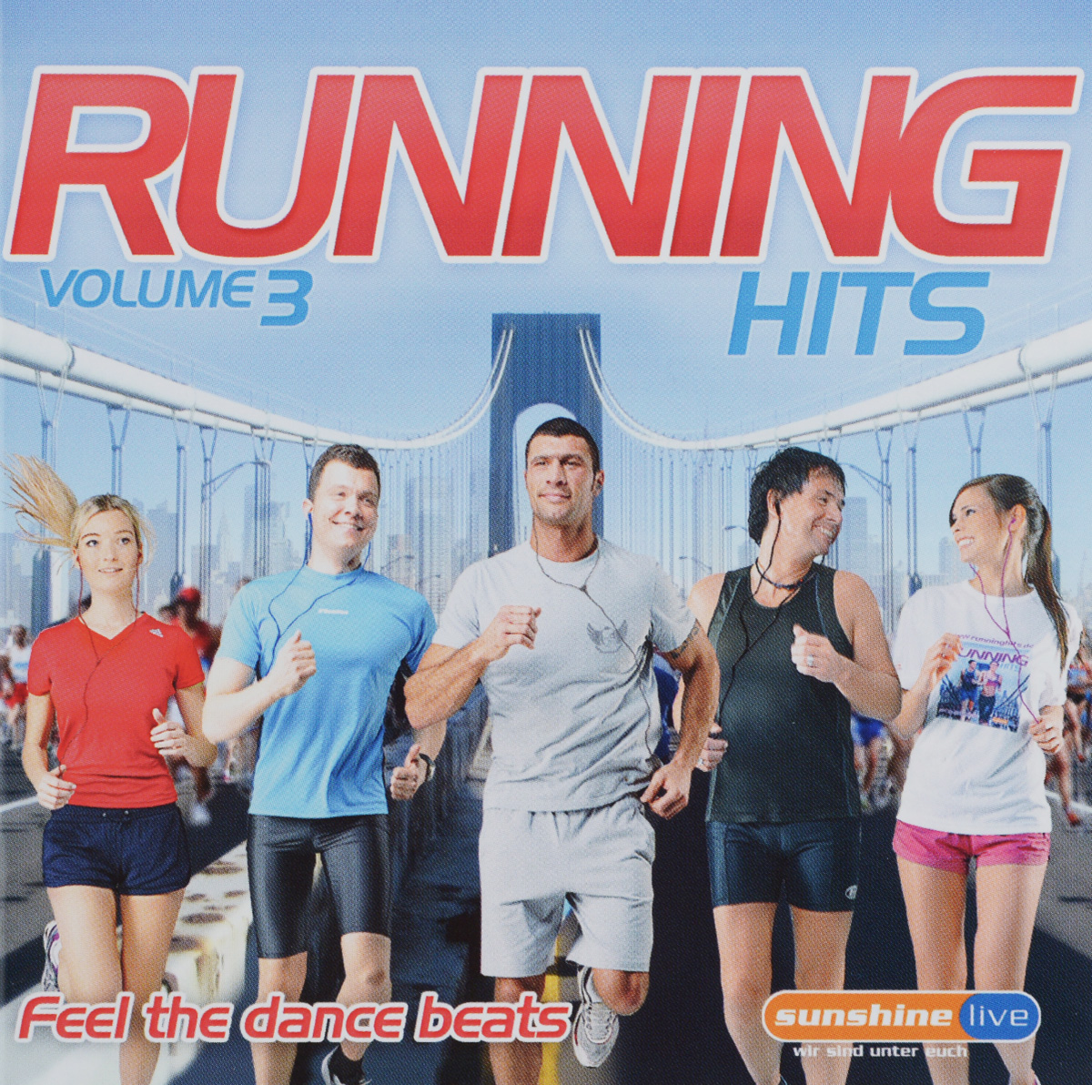 Running Hits. Volume 3. Feel The Dance Beats (2 CD) discofox dance party 2 cd
