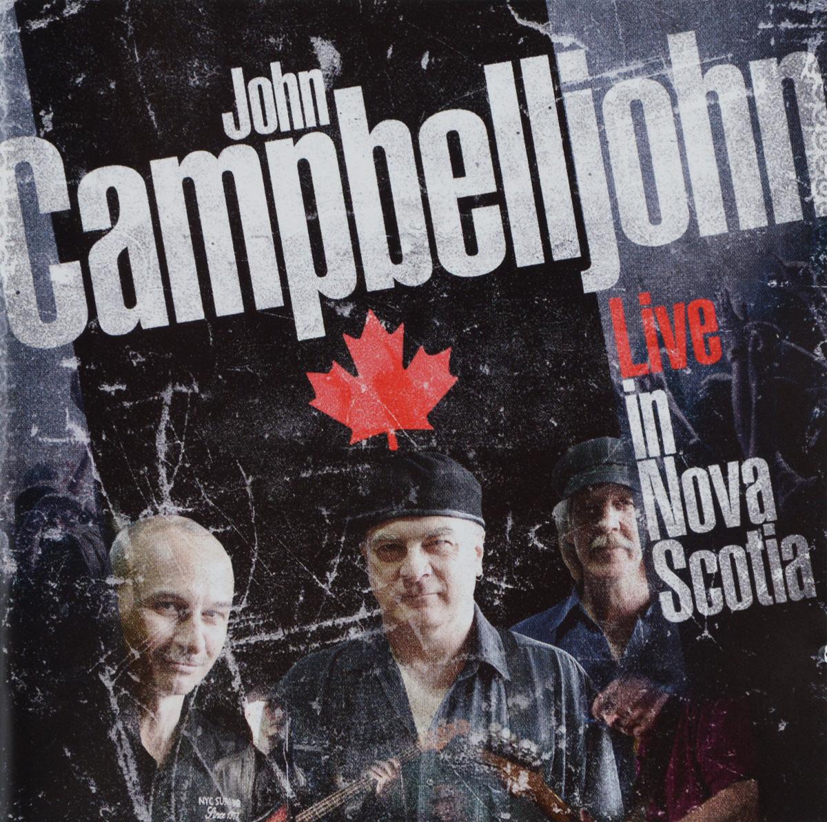 John Campbelljohn John Campbelljohn. Live In Nova Scotia (2 CD) sayat nova selected poems in armenian cd