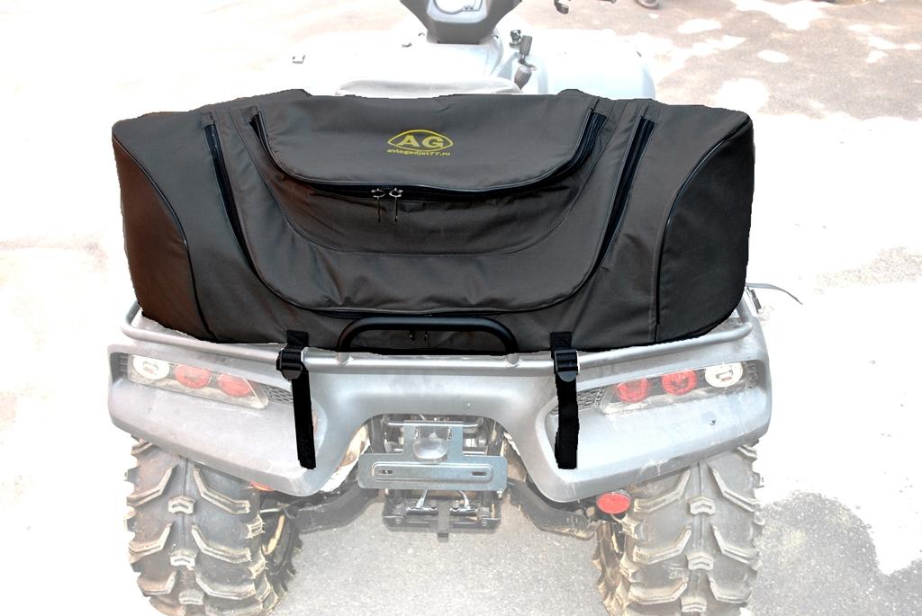 """Кофр AG-brand """"1ZS"""", универсальный, цвет: черный. AG-UNI-ATV-KOFR-1ZS"""
