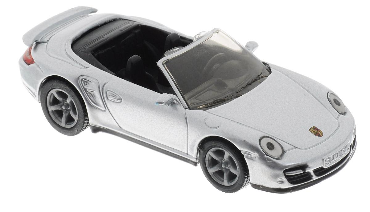 Siku Модель автомобиля Porsche 911 Turbo Cabrio цена