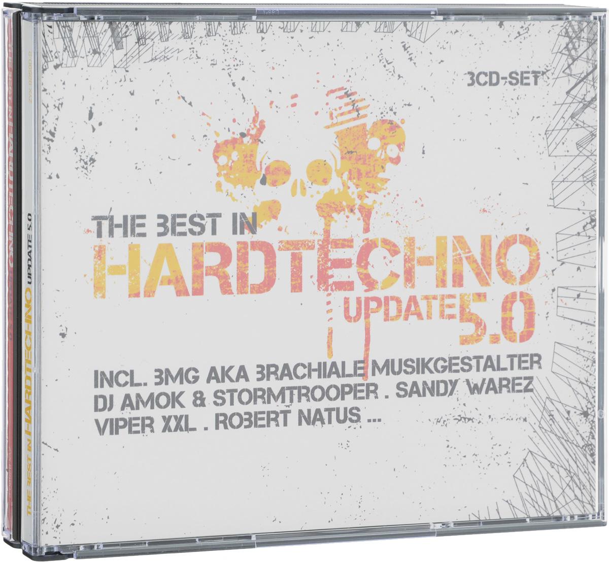The Best In Hardtechno. Update 5.0 (3 CD) михаил плетнев филип лейджер роджер норрингтон джон нельсон сабин мейер best adagios 50 3 cd