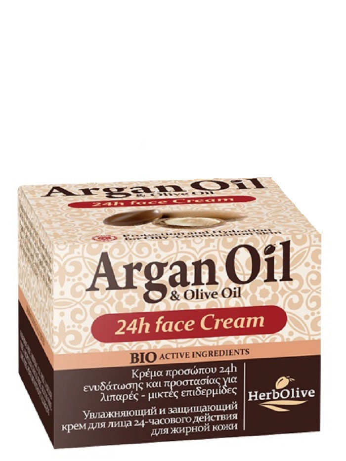 ArganOilКрем для лица уход 24ч для жирной и комбинированной кожи 50 мл ArganOil