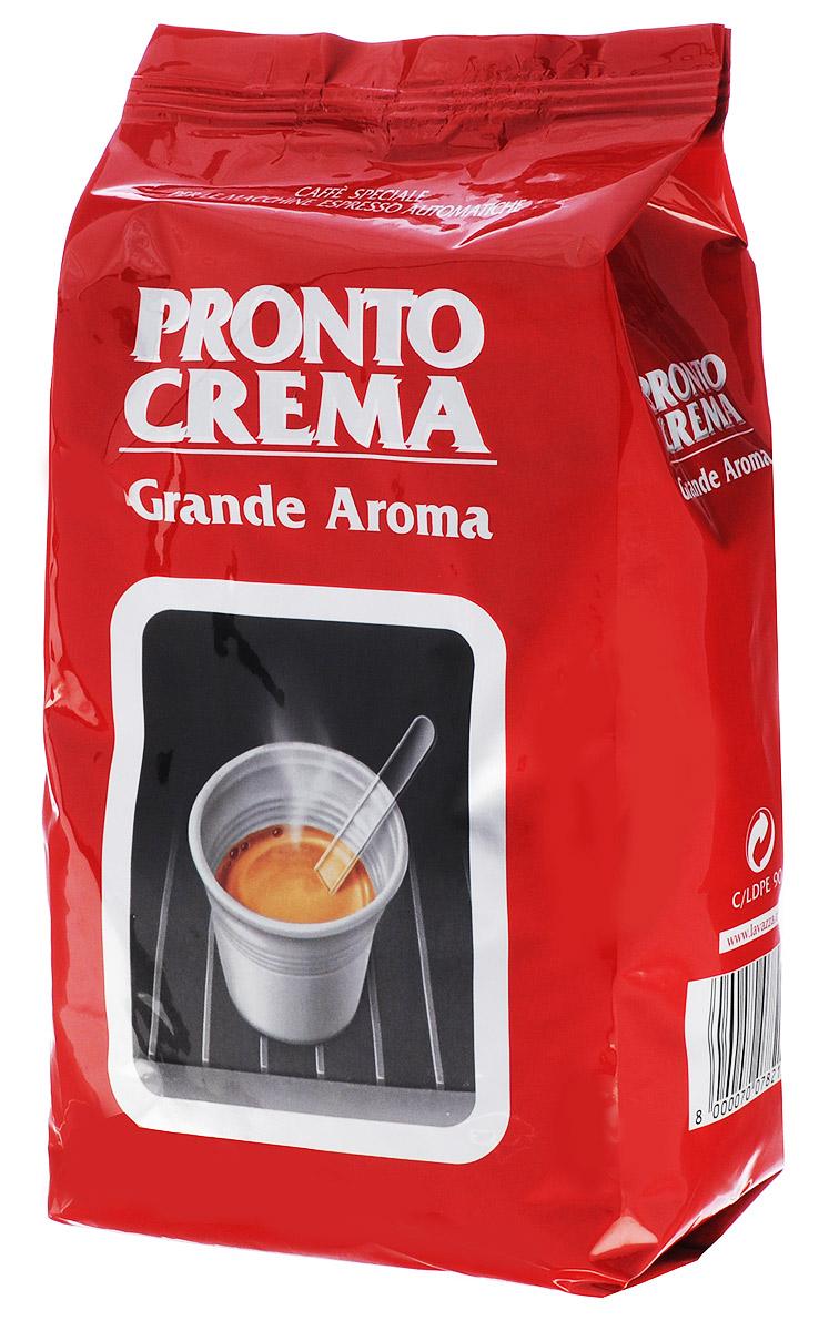 Lavazza Pronto Crema кофе в зернах, 1 кг lavazza grande ristorazione rossa кофе в зернах 1 кг