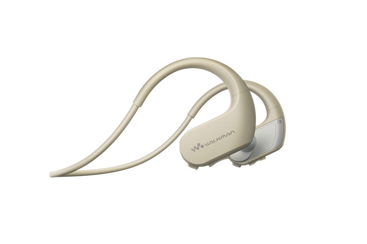 MP3 плеер Sony NW-WS413 4Gb, White Gray цена