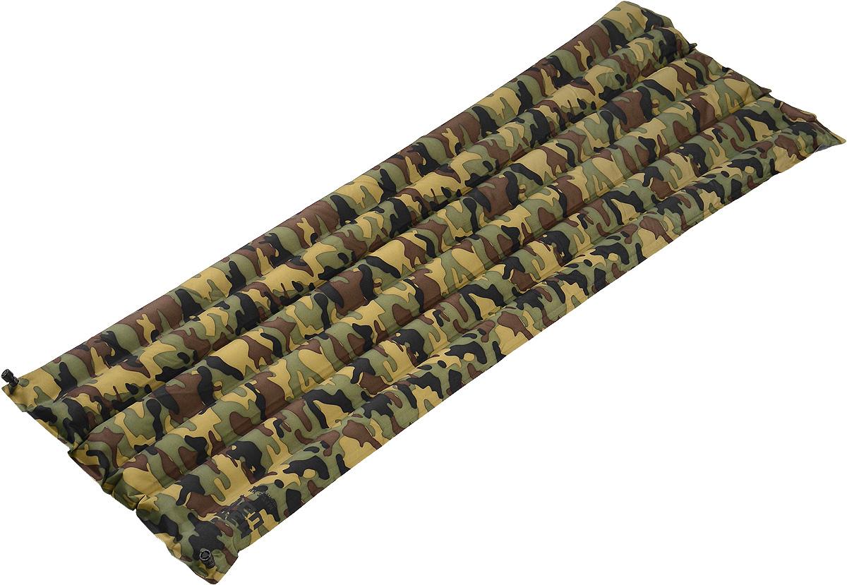 Коврик надувной Tengu MK 3.71M, цвет: камуфляж, 180 х 50 х 7 см