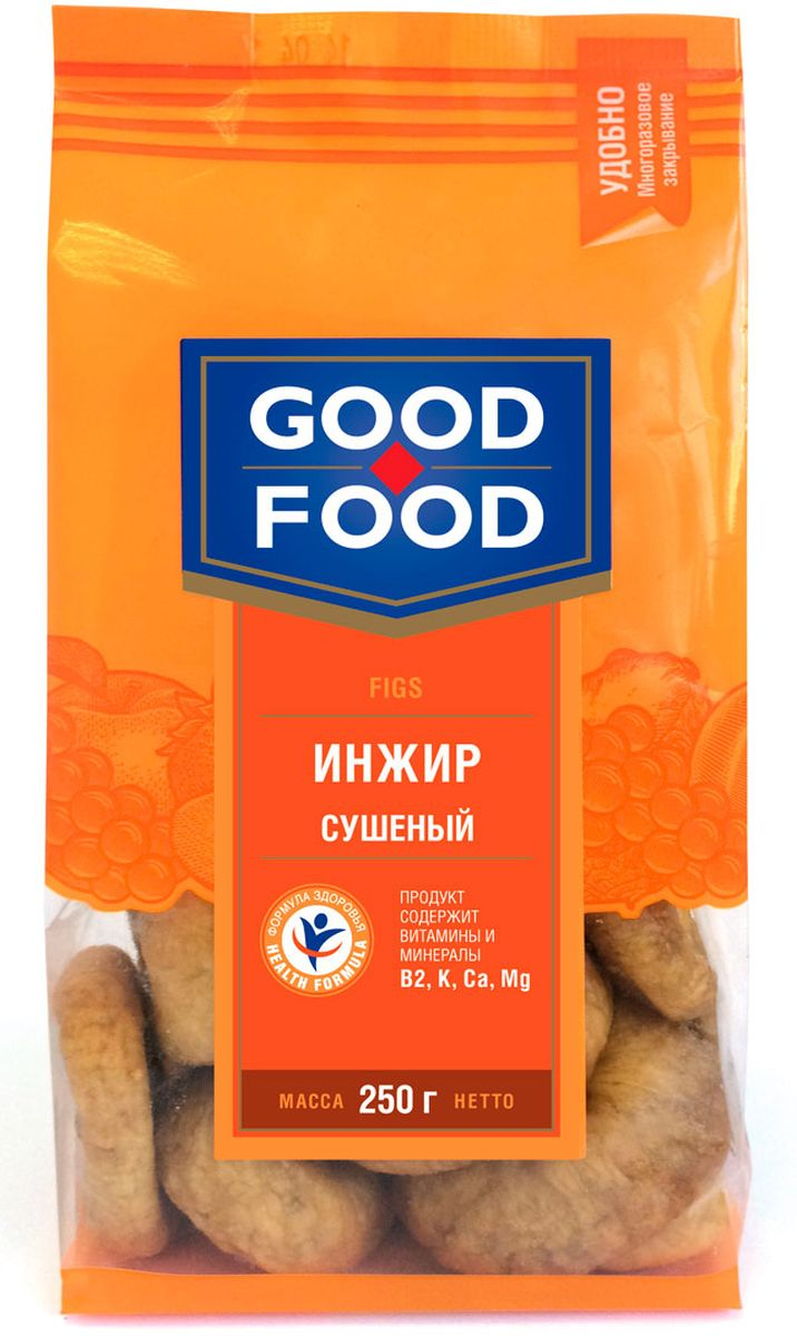 Good Food инжирсушеный,250г