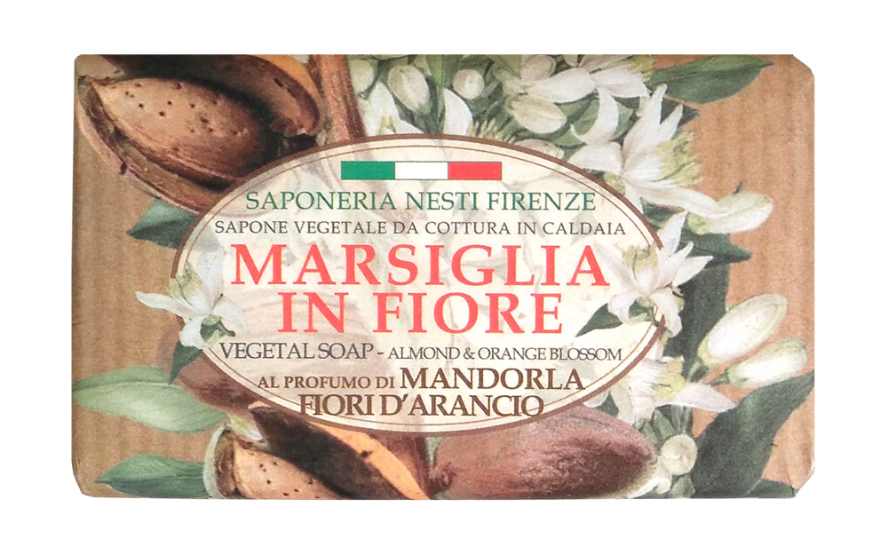 Мыло косметическое NESTI DANTE 1080126, 125 nesti dante мыло vero marsiglia мед 150 г