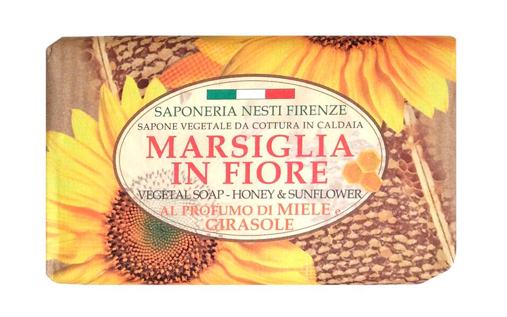 Nesti Dante Мыло Honey & Sunflower Мед и подсолнух 125 г nesti dante мыло lavanda rosa del chianti 150 г