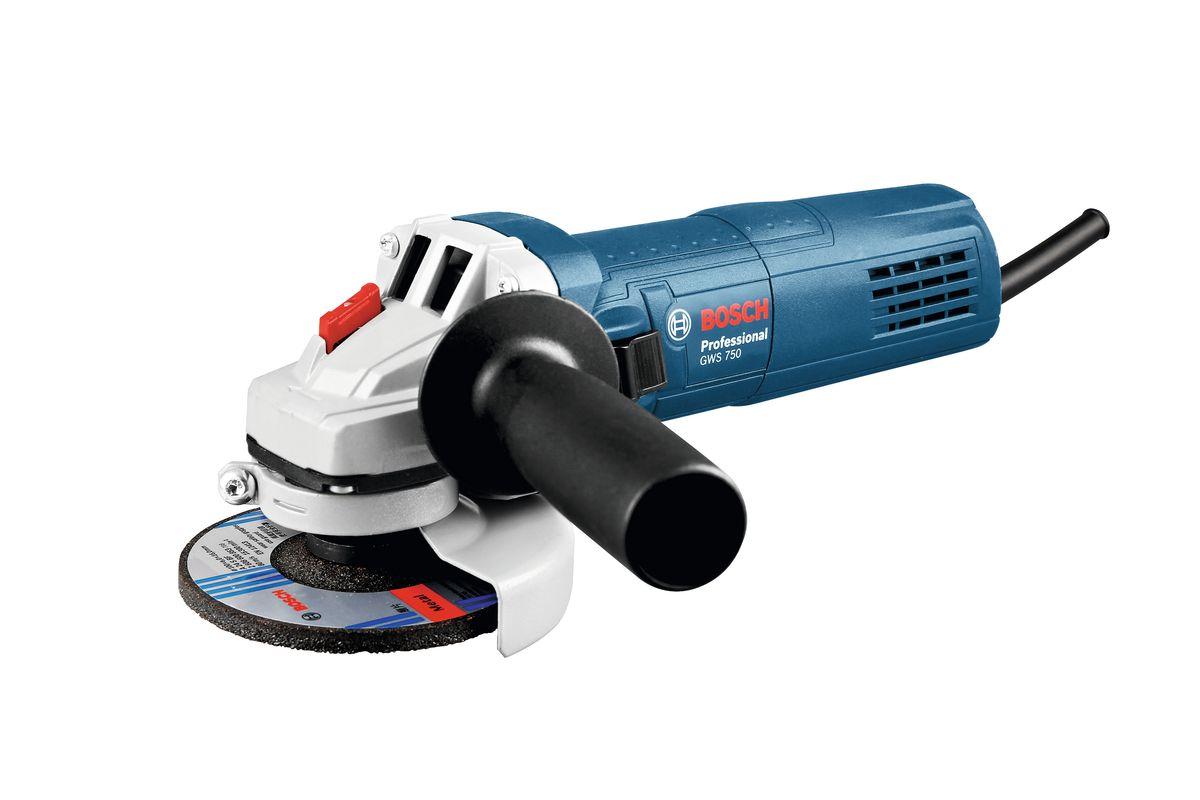 Шлифмашина угловая Bosch GWS 750-125, 06013940R1 цены