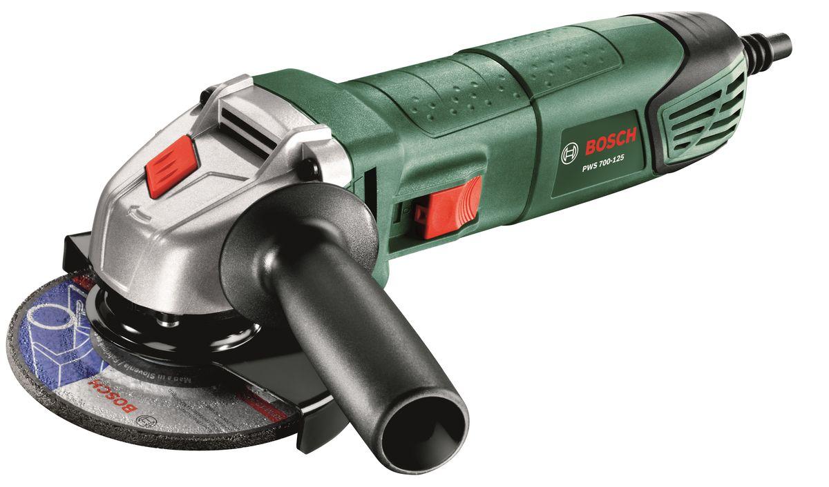 Шлифмашина угловая Bosch PWS 700-125. 06033A2023 bosch pws 10 125 ce