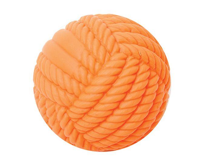Игрушка для животных Каскад Мячик - клубок, резиновый, 8 см клубок