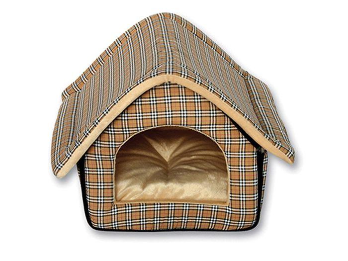 Домик-будка для животных Каскад, 37 х 33 х 33 см лежанка дарэлл rp9701 домик будка n1 37 37 37 бязь
