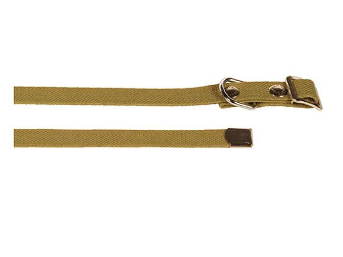 Ошейник брезентовый Каскад Классика, ширина 35 мм, обхват шеи 15-70 см ошейник для собак каскад классика брезентовый ширина 2 см обхват шеи 31 39 см