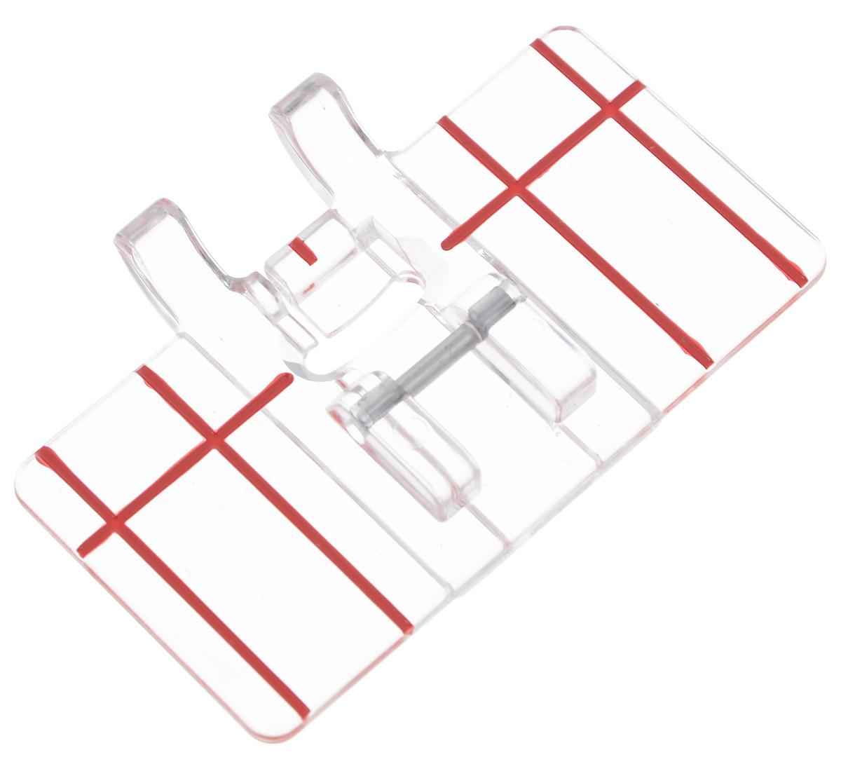 """Лапка для швейной машины """"Aurora"""", с разметкой, для параллельных швов"""