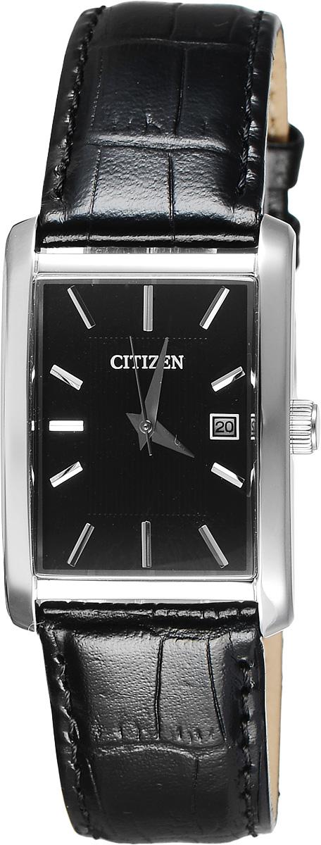 Часы наручные мужские Citizen, цвет: черный, стальной. BH1671-04E все цены