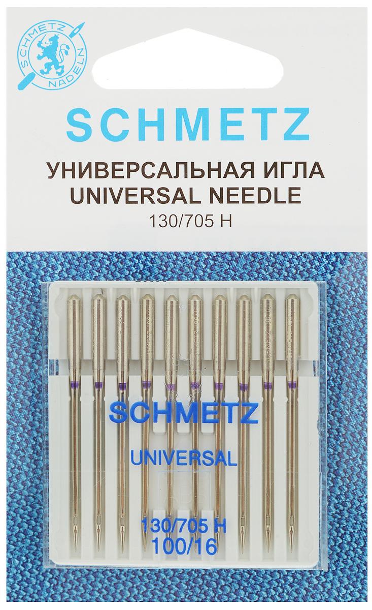 Набор универсальных игл Schmetz, №100, 10 шт набор игл для насоса нантонг зонги jy 14b