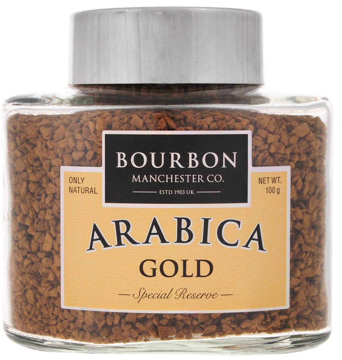 Bourbon Arabica Gold кофе растворимый, 100 г