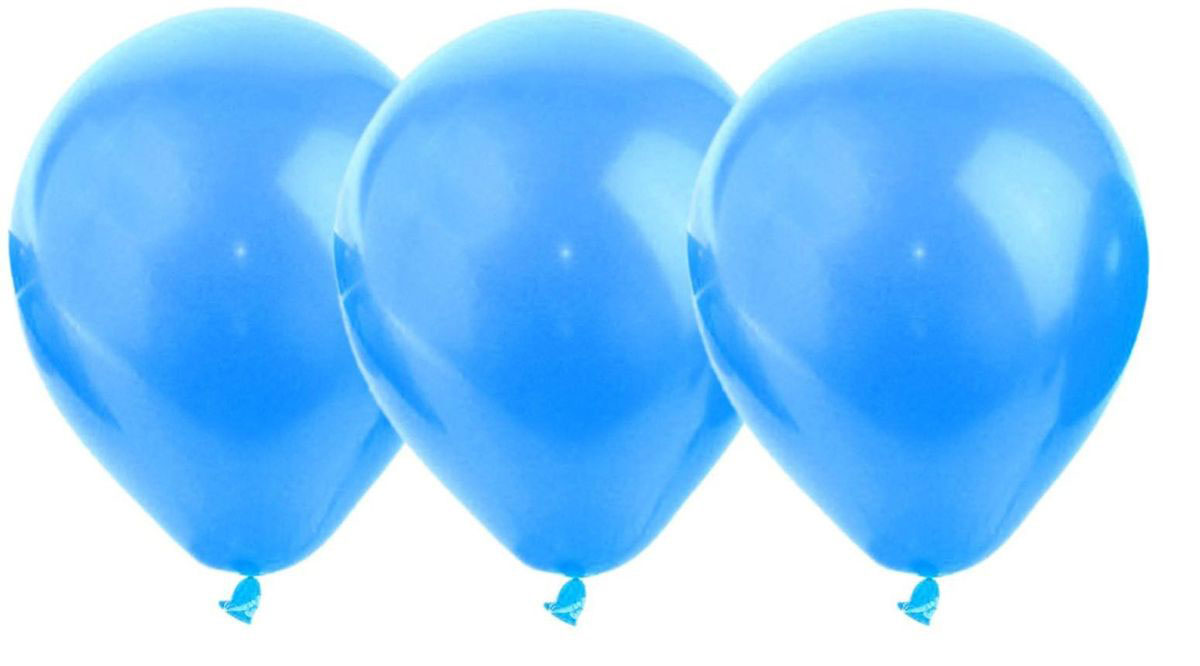 Страна Карнавалия Воздушеый шар латекс цвет синий 25 шт страна карнавалия скатерть 108х180 цветочки бабочки