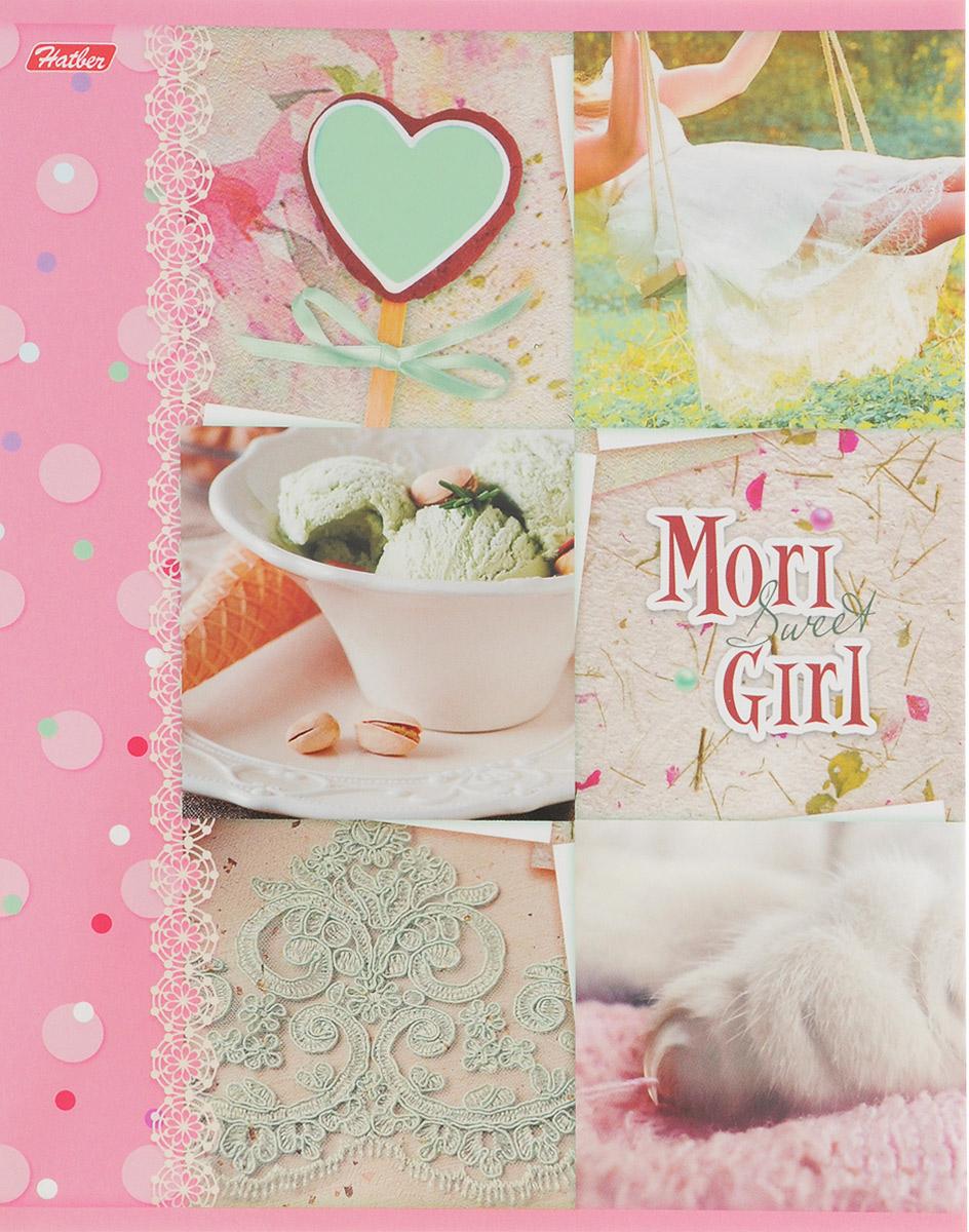 Hatber Тетрадь Sweet Mori Girl 48 листов в клетку 14551 hatber тетрадь russia 48 листов в клетку