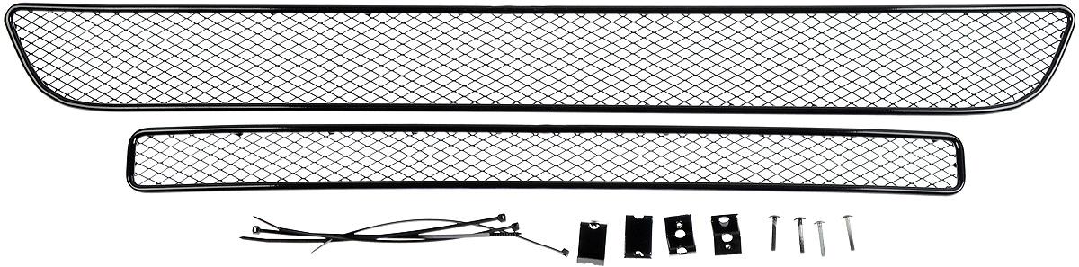 Сетка для защиты радиатора Arbori, внешняя, для Suzuki Vitara (2015-) без декоративной накладки на передний бампер, 2 шт сетка на бампер внешняя arbori для peugeot boxer 2007 2014 3 шт