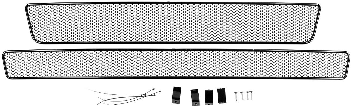 Сетка для защиты радиатора Arbori, внешняя, для ГАЗель Next (2014-), 2 шт сетка на бампер внешняя arbori для peugeot boxer 2007 2014 3 шт