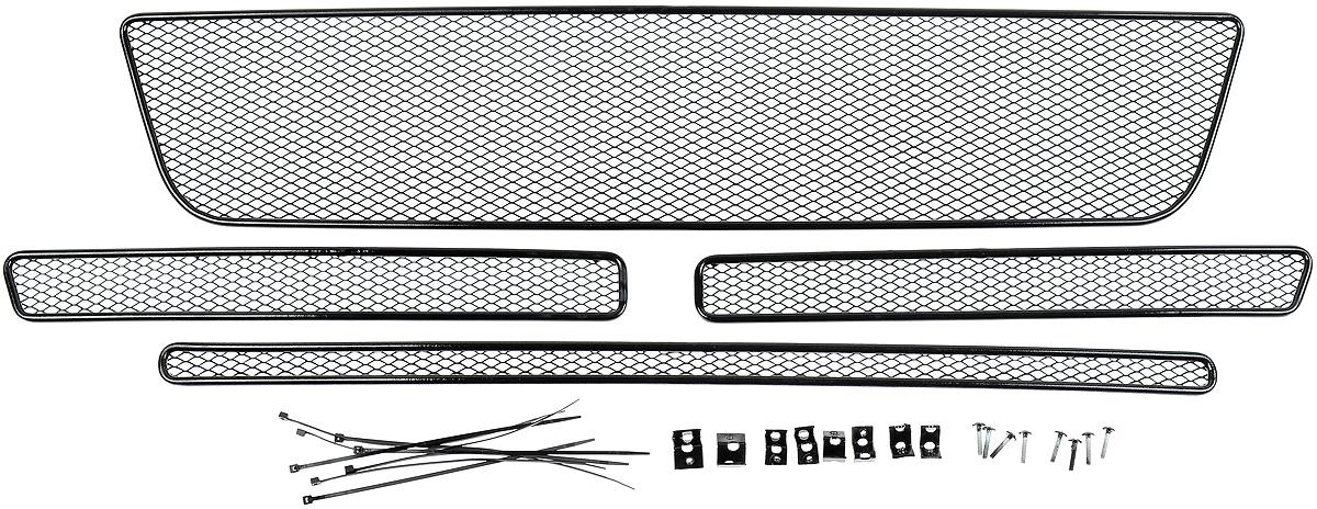 Сетка для защиты радиатора Arbori, внешняя, для Ford Explorer (2015-) с камерой, 4 шт сетка на бампер внешняя arbori для peugeot boxer 2007 2014 3 шт