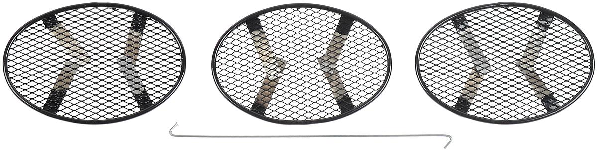 Сетка для защиты радиатора Arbori, внешняя, для Nissan Juke (2010-2014), 3 шт сетка на бампер внешняя arbori для peugeot boxer 2007 2014 3 шт
