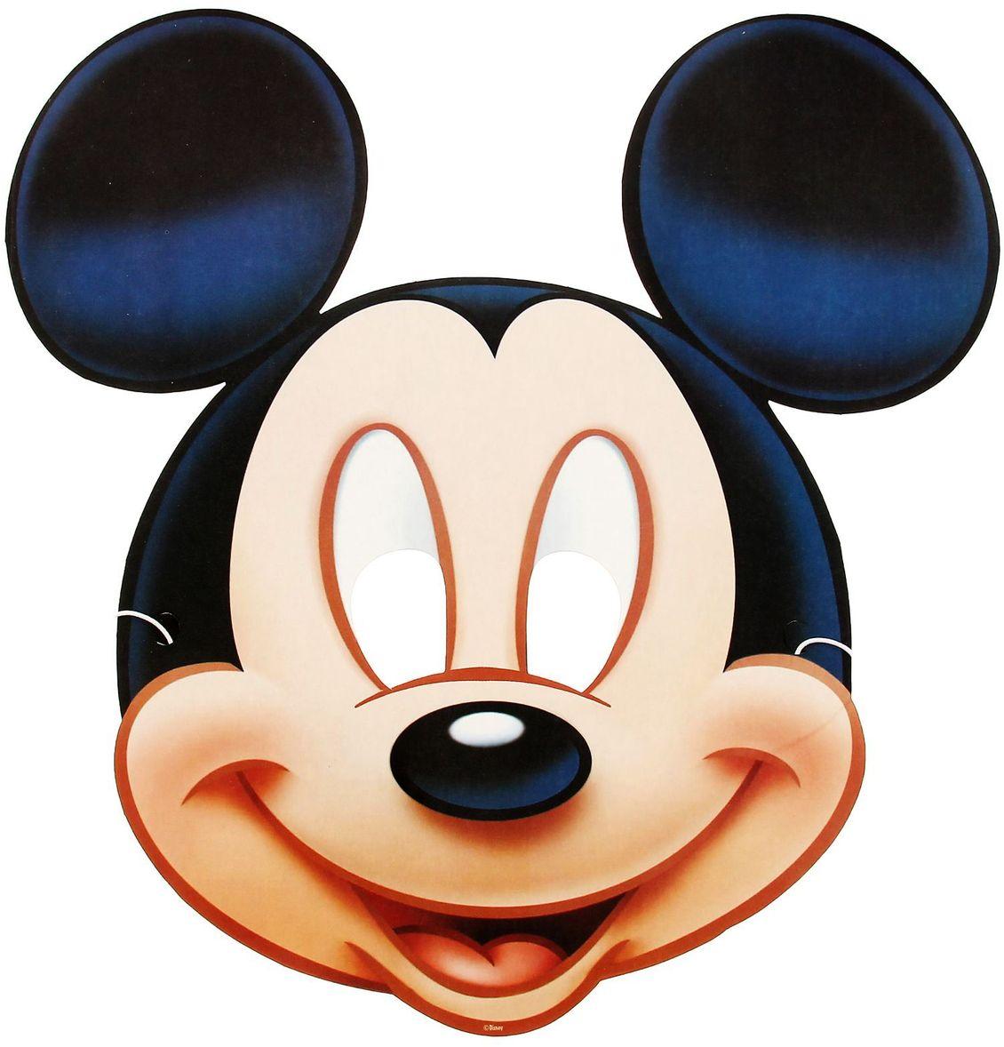Disney Маска карнавальная детская Микки Маус disney блокнот микки маус ты лучше всех 60 листов