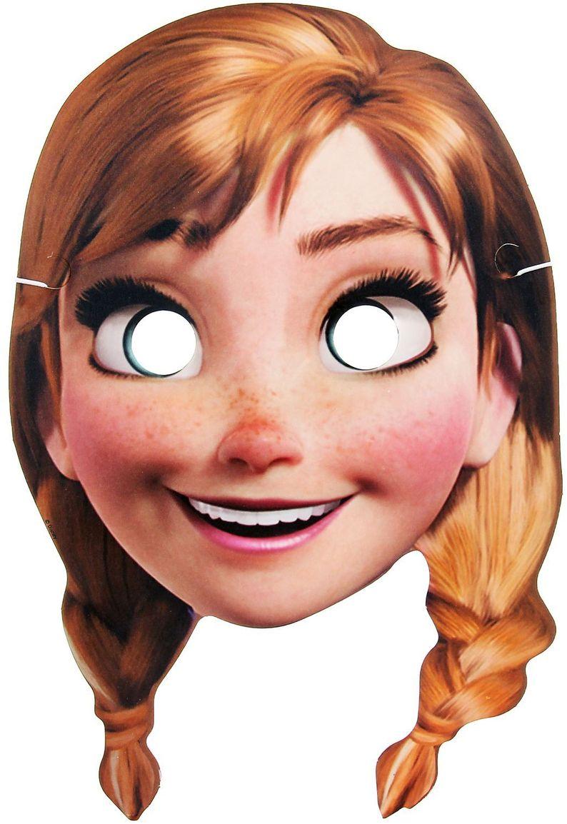Disney Маска карнавальная детская Холодное сердце Анна