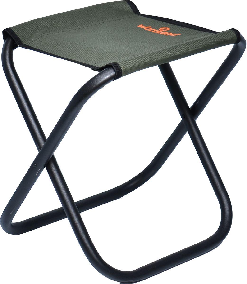 Стул складной Woodland Compact New, кемпинговый, 40 x 30 х 40 см, цвет: зеленый стул складной 400х300х300 мм